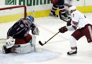 Coyotes beat Blue Jackets 3-2
