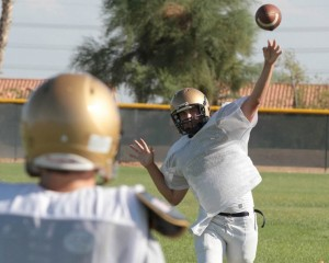 Desert Vista first practice