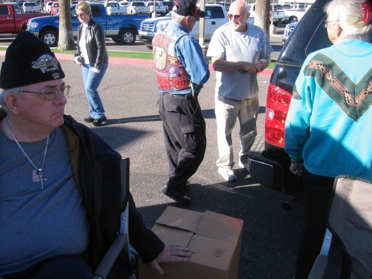 In help of Homeless Veterans