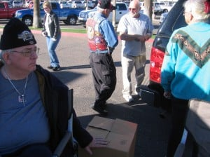 In help of Homeless Veterans
