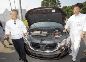 Honda shows zero-emission car