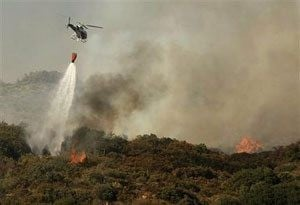 Wildfire chases July 4th visitors from Big Sur