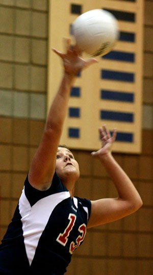 Centennial volleyball bangs out win against Mountain Pointe