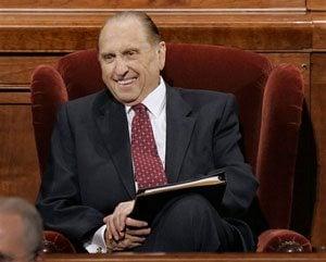 Monson named president of Mormon church