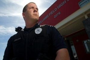 Cops stationed in schools face budget squeeze 