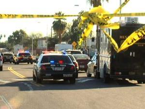 Gunshots in Mesa