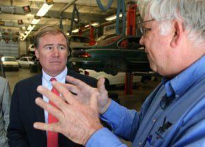 Rank drives auto leaders to EVIT