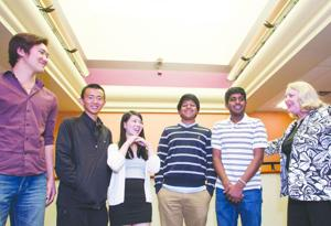 Hamilton IPPF Debate Team