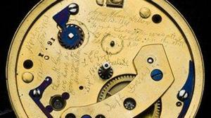 Museum reveals engraving hidden in Lincoln watch