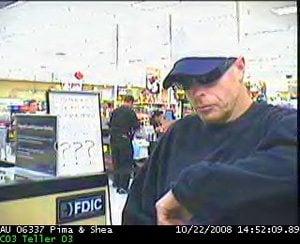 Wells Fargo offers reward in recent robberies