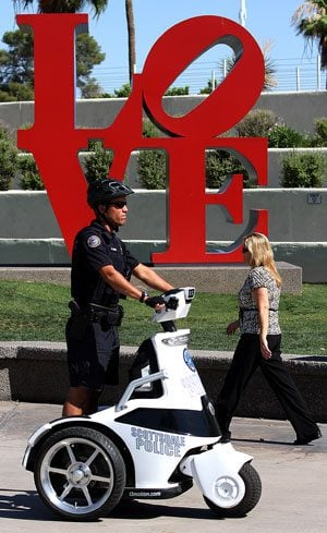 Scottsdale police testing 3-wheeled vehicle 