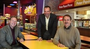 Peter Piper lands a slice of pizza pie in California