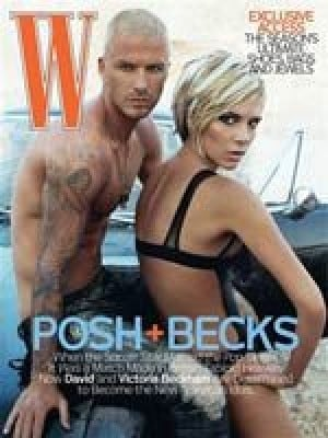 Posh and Becks strip down for hot photos