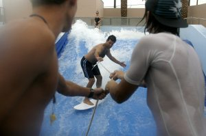 Renovated Rhodes pool has splashy reopening