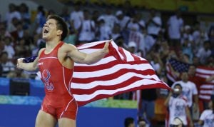 Former Valley wrestler Cejudo wins gold medal