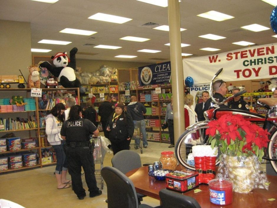 IT Partners toy drive