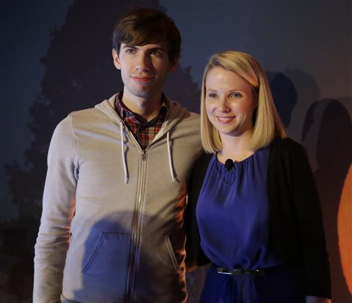 Marrissa Mayer, David Karp