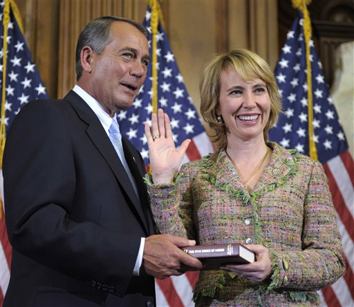 John Boehner, Gabrielle Giffords