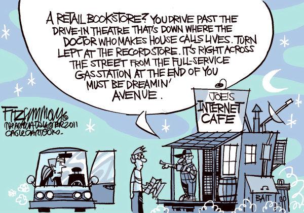 Bye bye bookstores