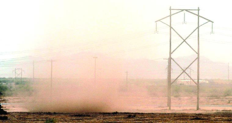 Blowing Dust