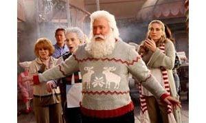 Tim Allen says being Santa isn't easy