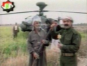 03/24 - Iraqi TV shows two men said to be captured U.S. pilots