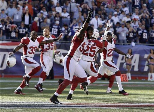 Cardinals Patriots Football