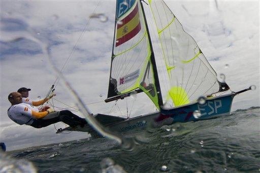 London Olympics Sailing Men