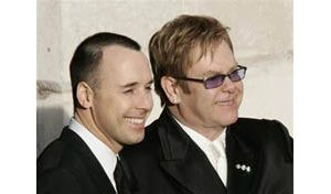 Elton John ties the knot with partner