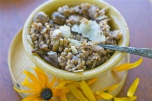 Food-Healthy-Farro Risotto