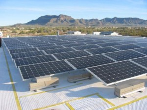 Solar LDS meetinghouse in east Mesa