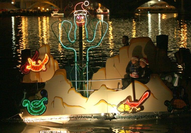 Fantasy of Lights Boat Parade