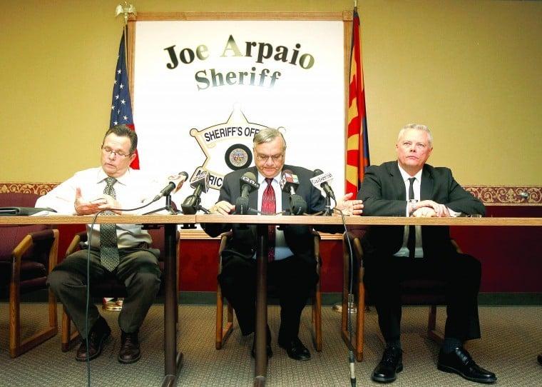 Joe Arpaio, Steve Whitney, Jerry Sheridan
