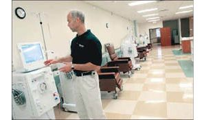 Dialysis center owned by doctors opens