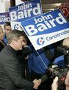 Canadian prime minister holds slim lead in polls