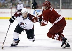 Coyotes defeated by Avalanche, 6-3