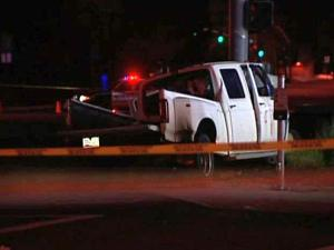 Driver killed, others hurt when truck slams into pole in Mesa