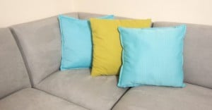 Fabric spray paint brightens up upholstery 