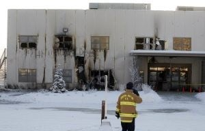 ATF: Accelerant poured around Palin's torched church 