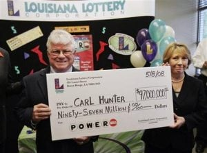 Man who lost homes in Katrina claims $97M Powerball prize