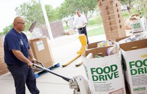 Gilbert Feeding Families Community Food Drive