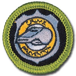 Boy Scouts Crime Prevention Merit Badge