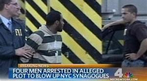 4 arrested in plot to bomb NYC temple