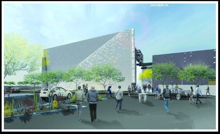 Proposed MCC Arts Center