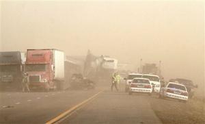 Arizona Dust Storm Crash