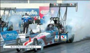 Fuller gets Top Fuel victory at Firebird
