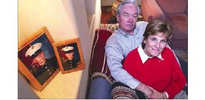 War worries family on two fronts