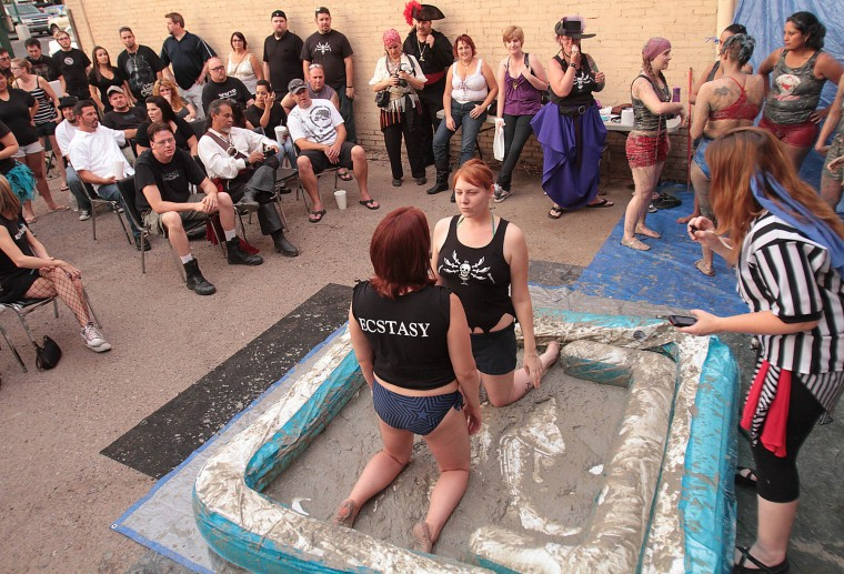 Pirate Mud Wrestling