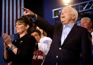 McCain, Palin stump in Mesa, face hecklers