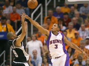 Diaw, Parker friends and rivals